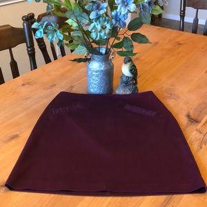 Plum Colored Skirt